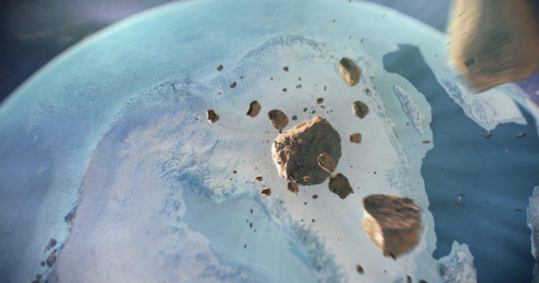Otkriven impozantni udarni krater ispod leda Grenlanda