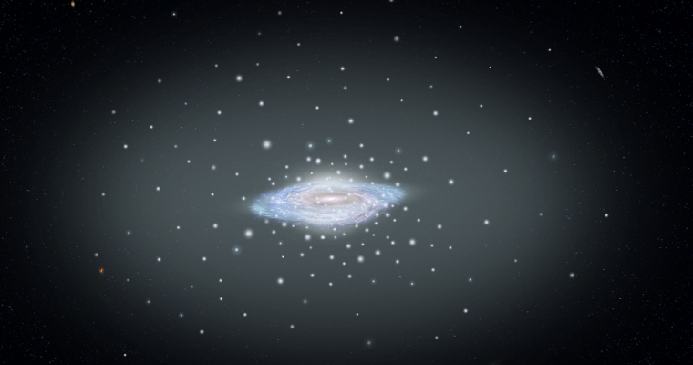 Habl i Gaia izmerili masu Mlečnog puta