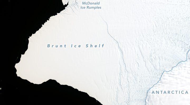 Pucanje leda: Santa veličine dva Njujorka napušta Antarktik