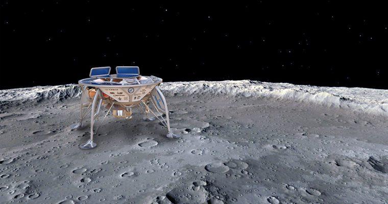 Izraelski lender uništen pri sletanju na Mesec