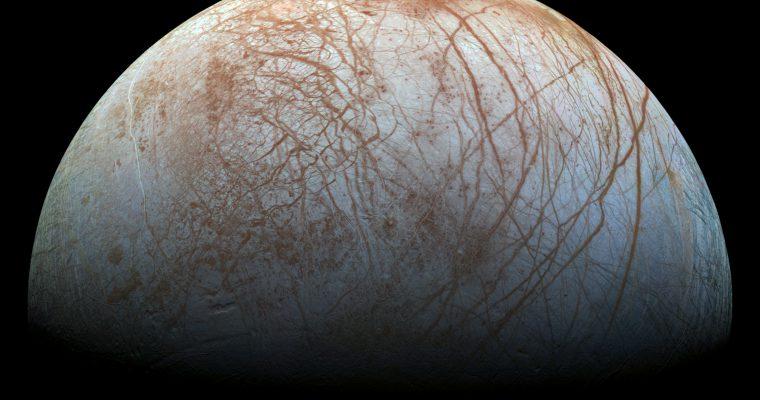 NASA pronašla vodenu paru iznad Jupiterovog meseca Evrope